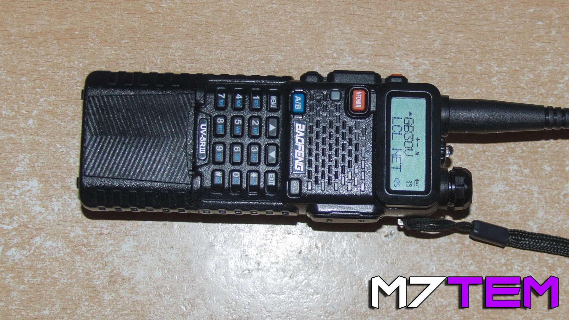 Picture of the UV-5R by Baofeng.